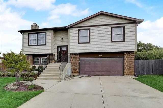 216 Carriage Drive, Carol Stream, IL 60188 (MLS #11238164) :: John Lyons Real Estate