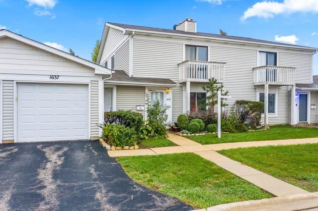 1637 Cornell Drive #1637, Hoffman Estates, IL 60169 (MLS #11239263) :: Ani Real Estate