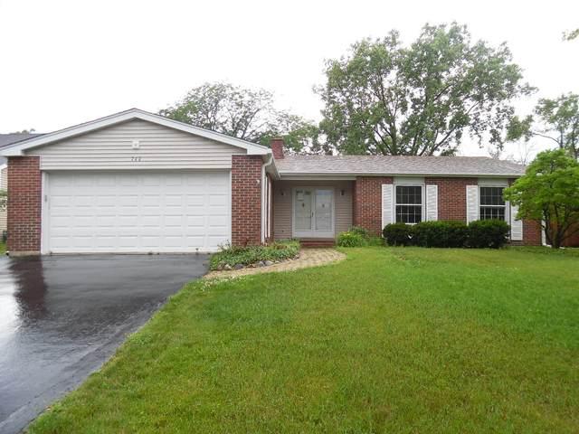 740 Franklin Street, Westmont, IL 60559 (MLS #11239909) :: John Lyons Real Estate