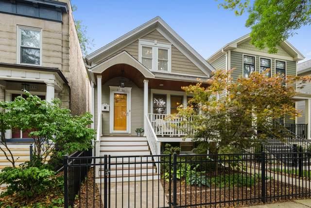 2135 W Warner Avenue, Chicago, IL 60618 (MLS #11240564) :: Touchstone Group
