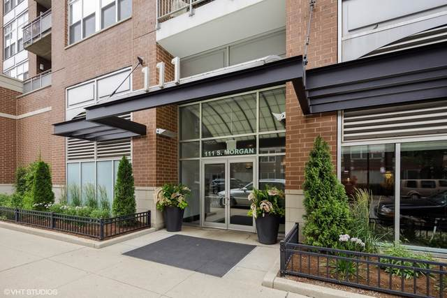 111 S Morgan Street #603, Chicago, IL 60607 (MLS #11241033) :: Touchstone Group
