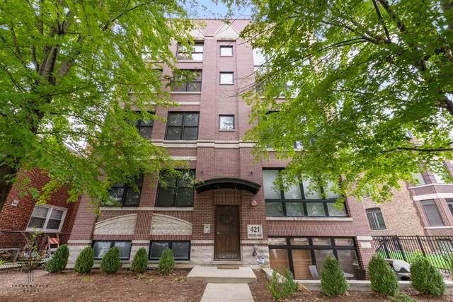 421 S Ridgeland Avenue 3S, Oak Park, IL 60302 (MLS #11241677) :: Carolyn and Hillary Homes