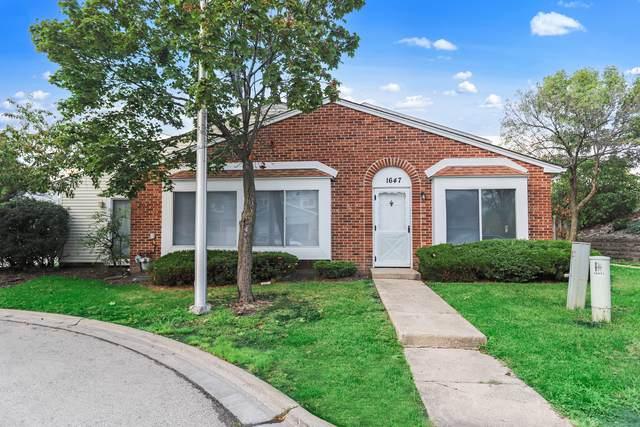 1647 Islandview Court, Hoffman Estates, IL 60169 (MLS #11242338) :: John Lyons Real Estate
