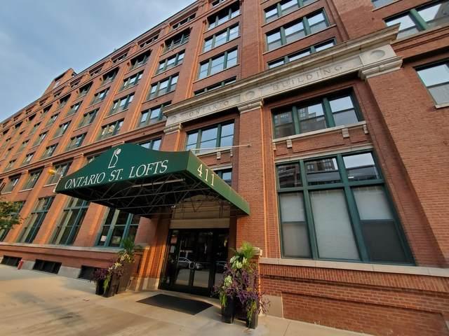 411 W Ontario Street #405, Chicago, IL 60654 (MLS #11243668) :: Janet Jurich