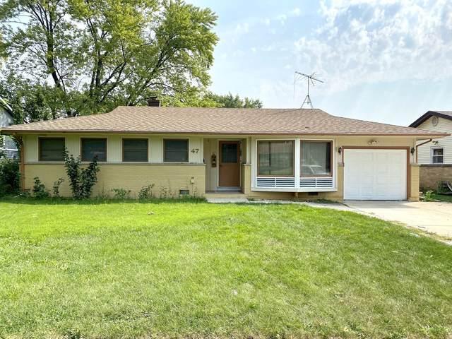47 Wildwood Road, Elk Grove Village, IL 60007 (MLS #11243939) :: John Lyons Real Estate