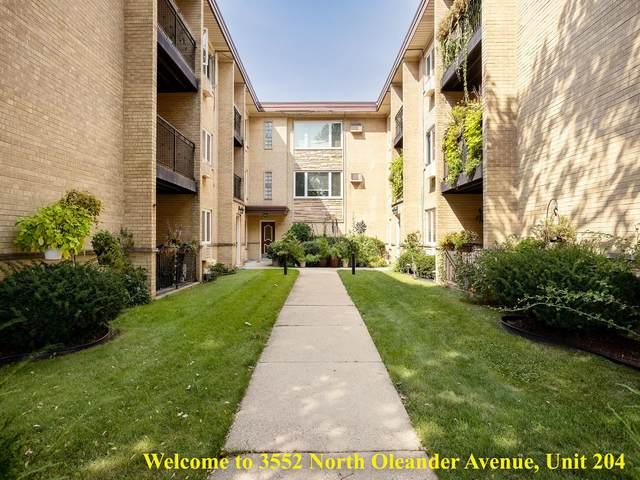 3552 N Oleander Avenue #204, Chicago, IL 60634 (MLS #11244089) :: The Wexler Group at Keller Williams Preferred Realty