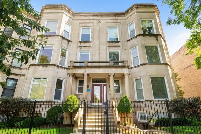 4335 S Vincennes Avenue 3S, Chicago, IL 60653 (MLS #11244225) :: John Lyons Real Estate