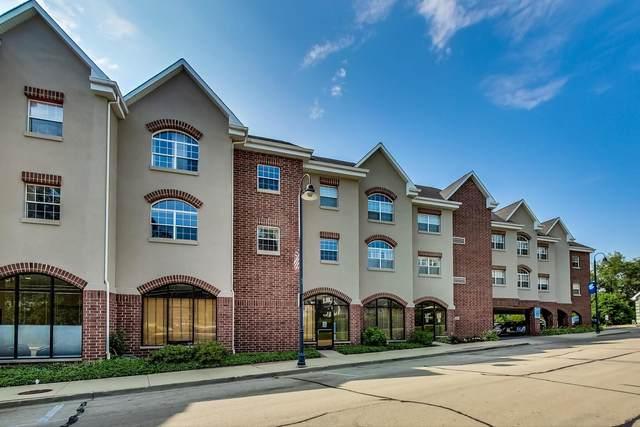 245 Burlington Avenue #205, Clarendon Hills, IL 60514 (MLS #11244949) :: John Lyons Real Estate