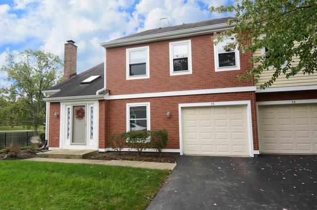 55 S Stonington Drive #214, Palatine, IL 60074 (MLS #11245214) :: Littlefield Group
