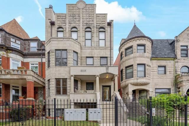 4115 S Drexel Boulevard 3F, Chicago, IL 60653 (MLS #11245472) :: Littlefield Group