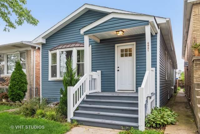 4821 W Winnemac Avenue, Chicago, IL 60630 (MLS #11245691) :: John Lyons Real Estate