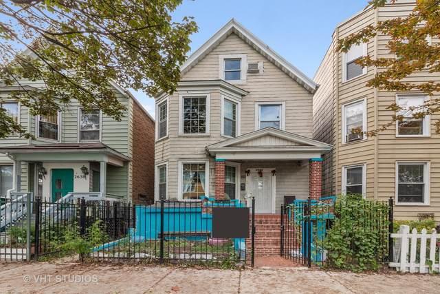 2640 N Springfield Avenue, Chicago, IL 60647 (MLS #11245835) :: Janet Jurich