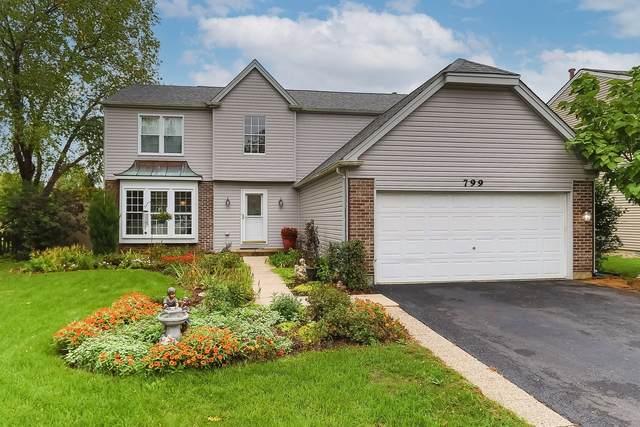 799 Burning Trail, Carol Stream, IL 60188 (MLS #11245907) :: John Lyons Real Estate