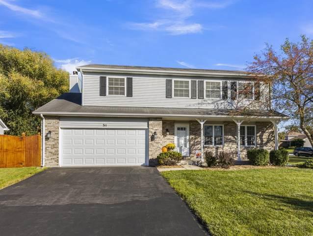 311 Fox Chase Drive N, Oswego, IL 60543 (MLS #11246567) :: Ryan Dallas Real Estate