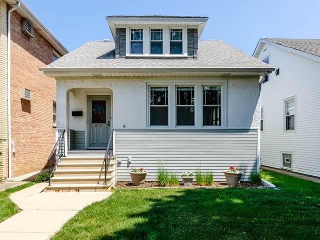 5707 N Meade Avenue, Chicago, IL 60646 (MLS #11246655) :: John Lyons Real Estate