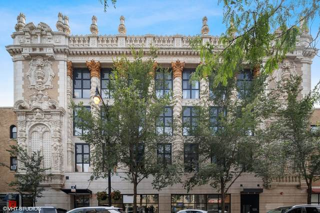 1635 W Belmont Avenue #323, Chicago, IL 60657 (MLS #11247458) :: Angela Walker Homes Real Estate Group