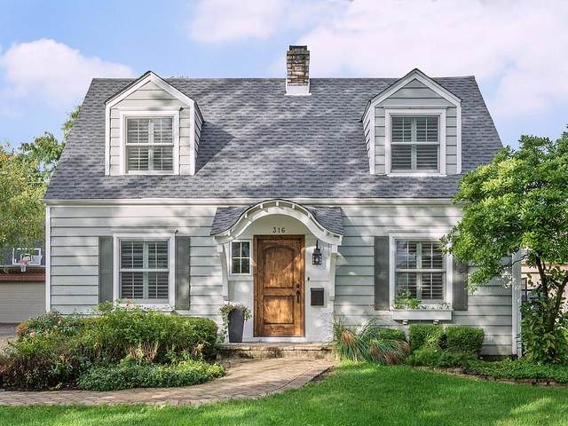 316 Justina Street, Hinsdale, IL 60521 (MLS #11247507) :: Signature Homes • Compass