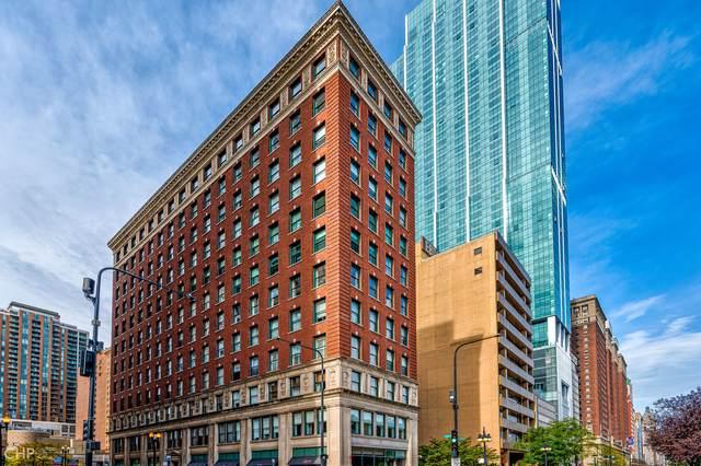 888 S Michigan Avenue #601, Chicago, IL 60605 (MLS #11247970) :: Janet Jurich