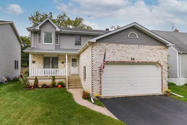 56 Orchard Terrace, Lombard, IL 60148 (MLS #11248503) :: John Lyons Real Estate