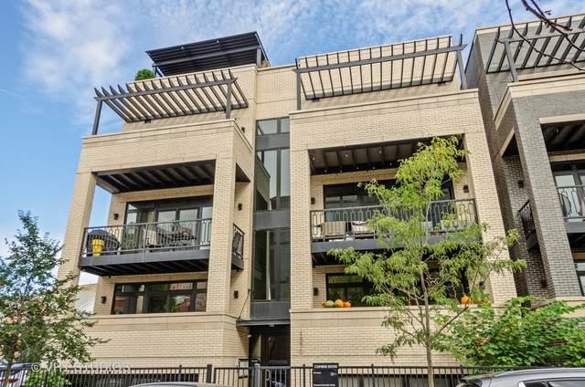1370 W Walton Street 3E, Chicago, IL 60642 (MLS #11248673) :: The Dena Furlow Team - Keller Williams Realty