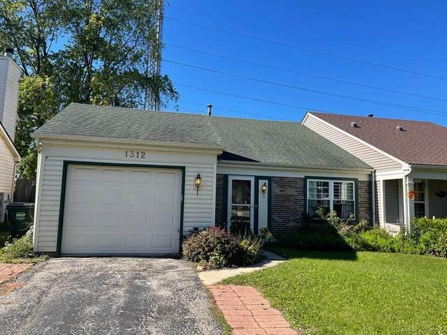 1312 Huntington Drive #1312, Mundelein, IL 60060 (MLS #11249152) :: Helen Oliveri Real Estate