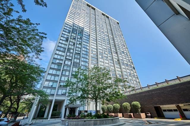 5455 N Sheridan Road #2704, Chicago, IL 60640 (MLS #11249711) :: John Lyons Real Estate