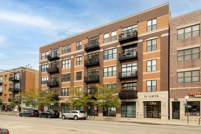 3245 N Ashland Avenue 4C, Chicago, IL 60657 (MLS #11249853) :: John Lyons Real Estate