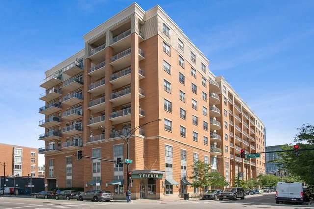 950 W Monroe Street #510, Chicago, IL 60607 (MLS #11249892) :: John Lyons Real Estate