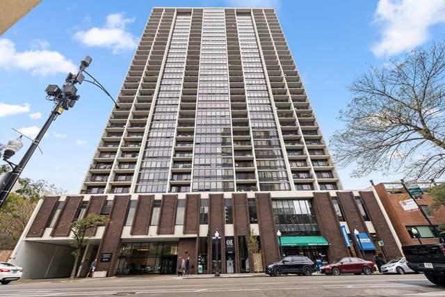 1636 N Wells Street #1814, Chicago, IL 60614 (MLS #11250098) :: John Lyons Real Estate