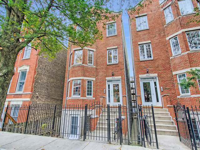 1431 N Bosworth Avenue #2, Chicago, IL 60642 (MLS #11251291) :: Carolyn and Hillary Homes