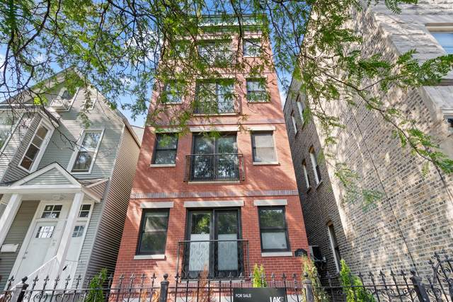 2256 N Kimball Avenue #3, Chicago, IL 60647 (MLS #11252283) :: Janet Jurich
