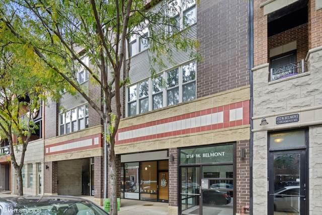 1714 W Belmont Avenue F, Chicago, IL 60657 (MLS #11252456) :: Touchstone Group
