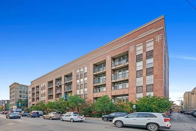1350 W Fullerton Avenue #522, Chicago, IL 60614 (MLS #11252770) :: Touchstone Group