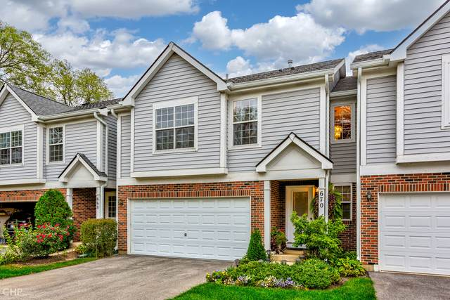 670 E Whispering Oaks Court, Palatine, IL 60074 (MLS #11253499) :: The Wexler Group at Keller Williams Preferred Realty