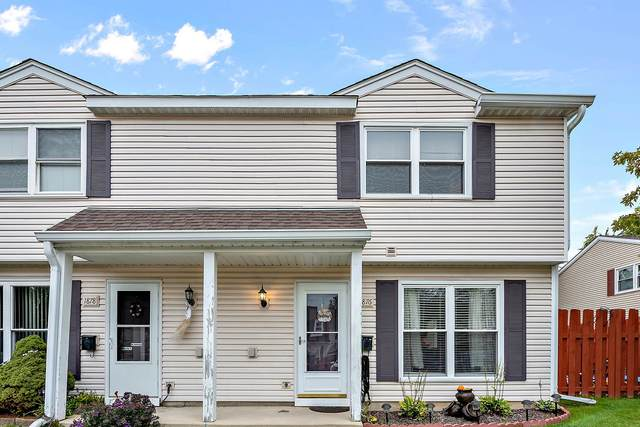 1876 Jamestown Circle #351, Hoffman Estates, IL 60169 (MLS #11253509) :: John Lyons Real Estate