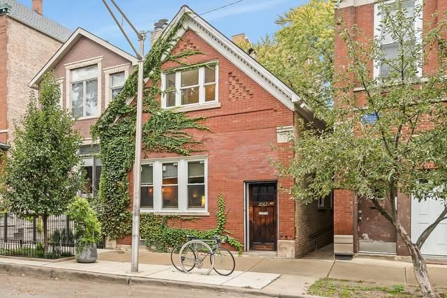 2067 N Hoyne Avenue, Chicago, IL 60647 (MLS #11253647) :: Janet Jurich