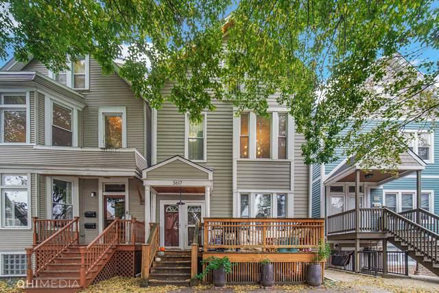 3617 N Marshfield Avenue 2F, Chicago, IL 60613 (MLS #11253844) :: Janet Jurich