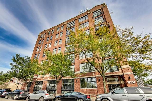 1250 W Van Buren Street #505, Chicago, IL 60607 (MLS #11253994) :: Janet Jurich