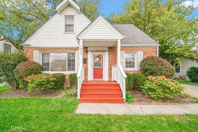 1840 187th Street, Homewood, IL 60430 (MLS #11254178) :: Signature Homes • Compass