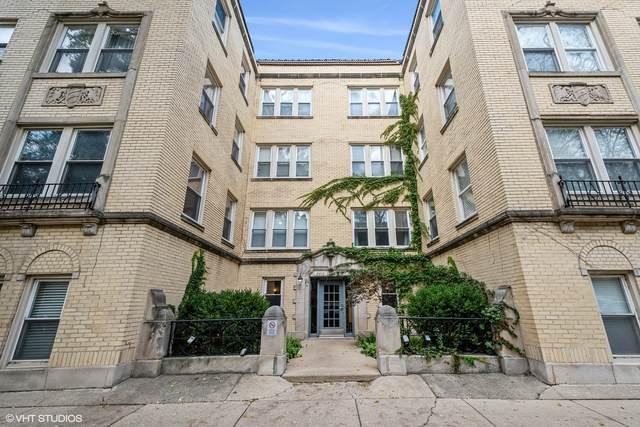 2608 W Glenlake Avenue #2, Chicago, IL 60659 (MLS #11254200) :: Ryan Dallas Real Estate