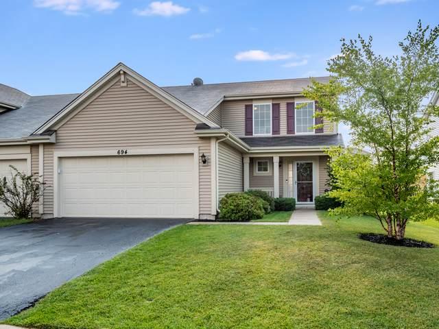 694 Boathouse Road, Pingree Grove, IL 60140 (MLS #11254594) :: Ani Real Estate