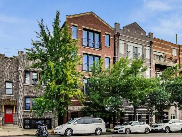 1927 W Belmont Avenue #4, Chicago, IL 60657 (MLS #11255262) :: The Wexler Group at Keller Williams Preferred Realty