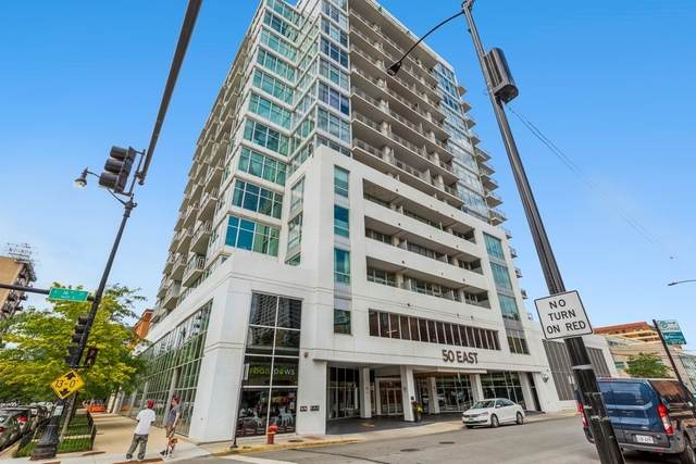 50 E 16th Street #714, Chicago, IL 60616 (MLS #11255752) :: Littlefield Group