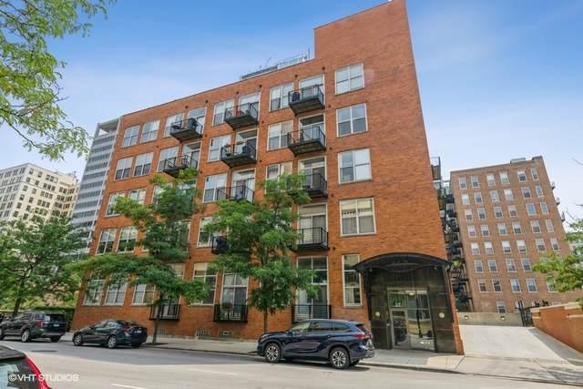 417 S Jefferson Street 108B, Chicago, IL 60607 (MLS #11257030) :: Littlefield Group