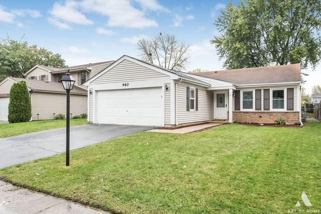 960 Edenwood Drive, Roselle, IL 60172 (MLS #11257048) :: Littlefield Group