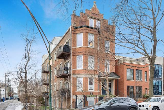 1712 N Wood Street 3W, Chicago, IL 60622 (MLS #10775387) :: The Perotti Group