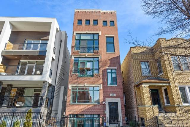 2233 N Hoyne Avenue #1, Chicago, IL 60647 (MLS #10933119) :: The Perotti Group