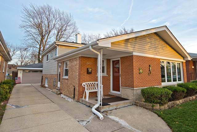 2453 George Street, Franklin Park, IL 60131 (MLS #10937015) :: Lewke Partners