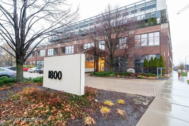 1800 Ridge Avenue #107, Evanston, IL 60201 (MLS #10941269) :: Property Consultants Realty
