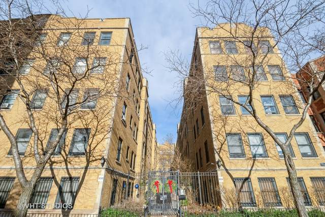 630 W Waveland Avenue 1F, Chicago, IL 60613 (MLS #10947221) :: Janet Jurich